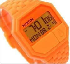 Nixon Watch * Rubber Re-Run Marmalade Digital Unisex Watch A169 877