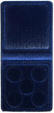 ASTUCCIO per 5 STERLINE Monete in PVC floccato Lusso Contenitore Regalo box