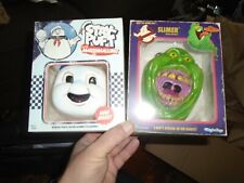 Ghostbusters Slimer & Stay Puft Fright Rags Mini Masks Limited Edition
