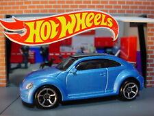 2012 CUSTOM VOLKSWAGEN BEETLE ❀ blue; oh5❀Multi Exclusive?❀2020 Hot Wheels LOOSE