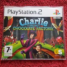 CHARLIE AND THE CHOCOLATE FACTORY PROMO SONY PLAYSTATION 2 PS2 COMPLETE GAME