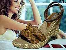 Marco Tozzi Damen-Sandalen mit Keilabsatz/Wedge Echtleder