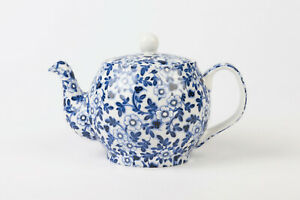 Pimpernel Blue Chintz Bone China 2 Cup Teapot