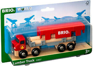 BRIO Vehicle - Lumber Truck 6 pieces