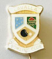 Lavalla Bowling Club Badge Pin Rare Vintage (L25)