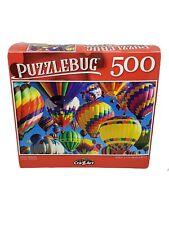 "Puzzlebug 500 Piece Jigsaw Puzzle ""BRILLIANT BALLOONS"" 18.25""x11"" Family Fun"