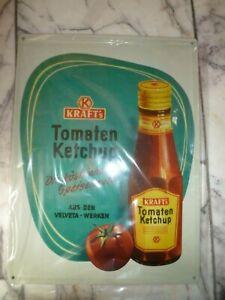 Nostalgie Blechschild Kraft Tomatenketchup ca.40x30cm