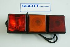 Ifor Williams  Combination Lamp Stop/Tail/Indicator/Fog 2.5 metre cable P06771