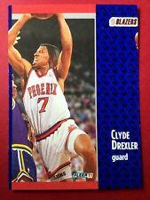 1991 Fleer Miscut Card Kevin Johnson / Clyde Drexler