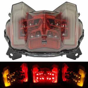 Rouge LED Intégrés feu arrière frein clignotant pour YAMAHA FZ09 MT-09 2017-2020