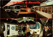 CPM  - LE METRO DE MARSEILLE (217210)