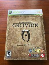 The Elder Scrolls IV: Oblivion - Collector's Edition (Xbox 360, 2006) CIB, Great