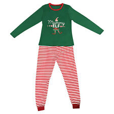 Elf Pyjamas Christmas Family PJs Matching Set Dad Mum Cheeky Little Elves Men