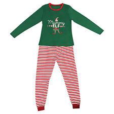 Elf Pyjamas Christmas Family PJs Matching Set Dad Mum Cheeky Little Elves Men L