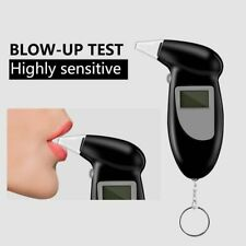 Professional Alcohol Breath Tester Detector Test Keychain DeviceLCD Screen