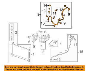 For 2010-2011 Chevrolet Camaro A//C Hose 22924KM 3.6L V6 A//C Hose Assembly
