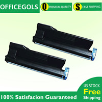 2 PK FOR Okidata 43979215 B420 B420N B440DN B420DN MB480 TONER CARTRIDGE 12K