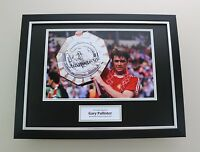 Gary Pallister Signed Photo Framed 16x12 Man Utd Autograph Memorabilia Display