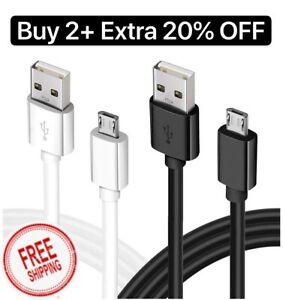 Kindle fire Charger Cord Replacement Extra Long Compatible  Fire Tablet HD HDx Fire 7 10/&Kids Edition,2PACK 6FT USB Charging Cable-White Fire HD 8