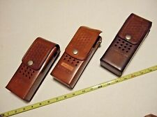 Kenwood Ham Radio Pouches,bianchi leather,tr2500+tr2600,uni versal,snapitup!