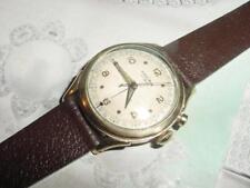 Vintage 1950s VULCAIN CRICKET mens ALARM watch