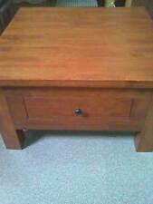 Beautiful Solid Wood Dirty Oak Coffee Side Table W 75 cm x L 75 cm x H 44.5 cm