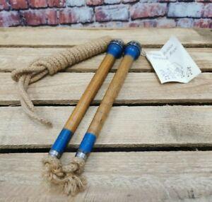 Vintage Old Bobbin Skipping Rope