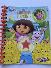 "STORY READER BOOK/NICK JR/DORA THE EXPLORER ""the Wishing Machine"" Replacement"