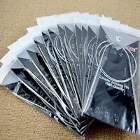 "11 pcs/1set 32"" 80cm Steel Knitting Needles Circular Hot Size"