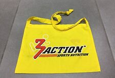 SACOCHE MUSETTE VELO CYCLISME SPONSOR TEAM EQUIPE 3 ACTION SPORTS NUTRITION N°1