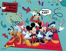 Poland souvenir sheet  imperforated 2013 Magical World of Disney + gratis