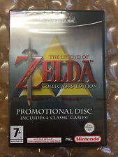 NEW FACTORY SEALED The Legend of Zelda Collector's Ed pour Nintendo Gamecube