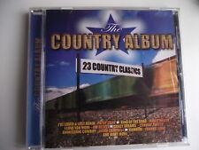 The Country Album - 23 Country Classics. CD Album. (L04)