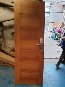 solid oak office door with finger print security lock 28in size 5 available
