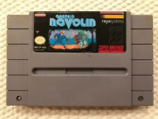 Captain Novolin ( Super Nintendo ) SNES ** Authentic **