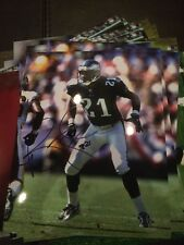 Bobby Taylor Autographed 8x10 Eagles Photo