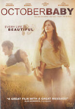 NEW Sealed Christian Drama WS DVD! October Baby (Rachel Hendrix, John Schneider)