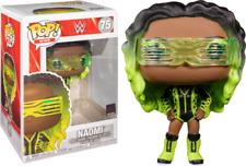Funko Pop! WWE WWF # 75 NAOMI green Hair w/ Free Pop Protector & Free Shipping