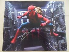 "Tom Holland Signed -Autographed Photo ""Peter"""