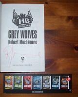 ROBERT MUCHAMORE SIGNED GREY WOLVES HENDERSON'S BOYS 1/1 UK PB BRAND NEW UNREAD