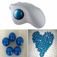 Replacement Ball Wireless Mouse Trackball Spare Part for Logitech M570 Blue Ball