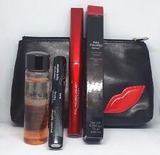 New! Laura Geller Eyes Set Waterproof Liner, Full Sz Mascara & Remover w/Bag!
