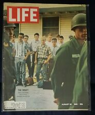 LIFE Magazine August 20 1965 Vietnam story THE DRAFT cover FT KNOX 8/20/65