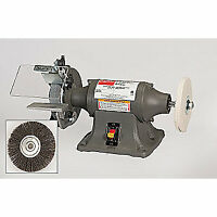 Black Bull Bench Grinder 8 In Wheel Dia 2 Adjustable