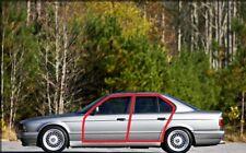 BMW E34 5 SERIES 4 Doors Weatherstrip Trunk Lid Rubber Sunroof Seal Gasket 6 pcs
