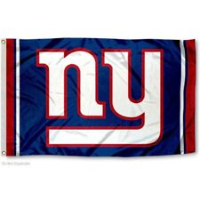 NEW YORK GIANTS FLAG 3'X5' NFL LOGO BANNER: FREE SHIPPING