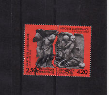 paire martyrs de la résistance   1993  num: 2813/14  oblitéré /2