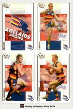 2005 Select AFL Dynasty Trading Cards Base Card Team Set (12)-Adelaide