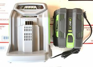 EGO BA2800 56-Volt 5.0 Ah Lithium Ion Battery and Fast Charger  2020