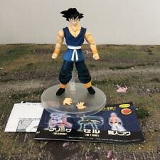 "UniFive DBZ Dragon Ball GT Blue Gi Son Goku Articulated 4"" Hybrid Figure 2785"